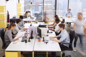 Koniec hałaśliwych biur open space?